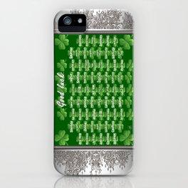 Good Luck iPhone Case