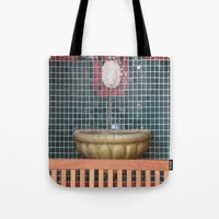 health Tote Bags featuring HEALTH by Manuel Estrela 113 Art Miami