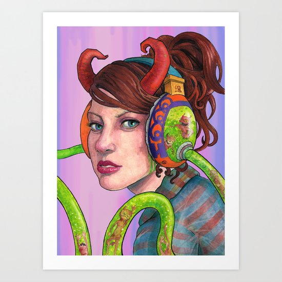 """Pop music is the Devil"" Art Print"