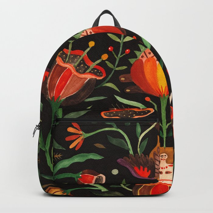 Singing Flowers - Night Backpack