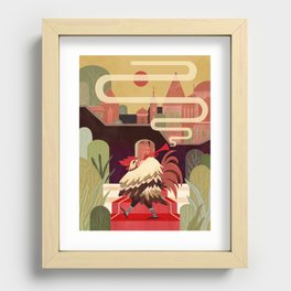 Pushkin Fairy Tales 01- The Chantecler Recessed Framed Print