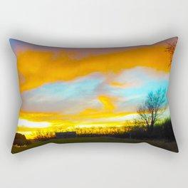 Days Gone Past Rectangular Pillow