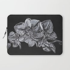 Silver Orchid Laptop Sleeve