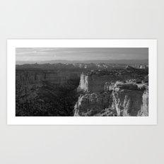 Valley in Utah Art Print