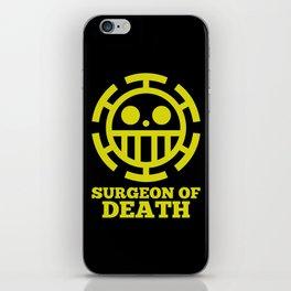 Surgeon Of Death iPhone Skin