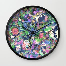 Flower Explosion Wall Clock