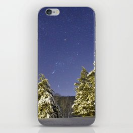 The calming Cosmos after the storm iPhone Skin