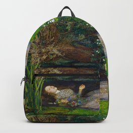 "John Everett Millais, "" Ophelia "" Backpack"