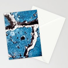 Aging Blue Stationery Cards