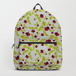 Graying Beauty and the Beets Backpack