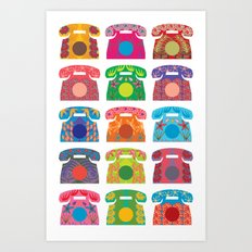 iRetro Art Print