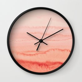 WITHIN THE TIDES - BLOOMING DAHLIA Wall Clock