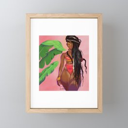 Nikita Framed Mini Art Print
