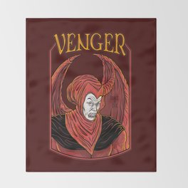 Venge, force of Evil Throw Blanket