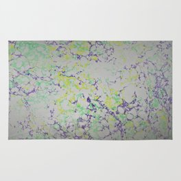 Easter Composition Water Marbling Rug