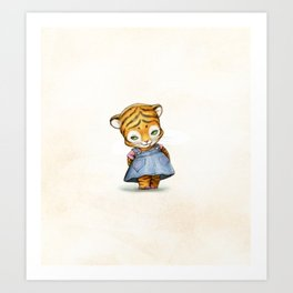 Lonely Ty Art Print