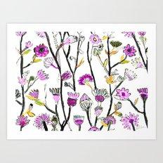 Spring Flowers Art Print