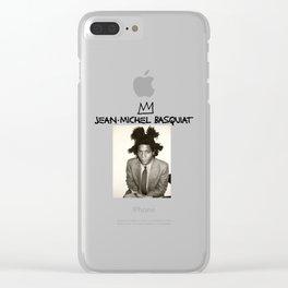 michel basquiat Clear iPhone Case