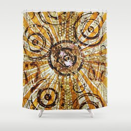 Fission Shower Curtain