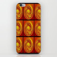 Abstract Collage Orange Art. iPhone & iPod Skin
