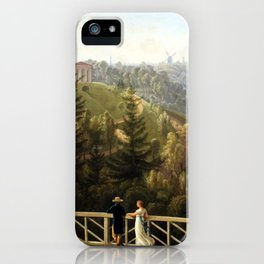 Ludwig Philipp Strack View from Baurs Hamburg iPhone Case