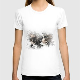 Abstract Wolf T-shirt