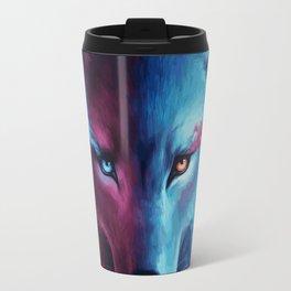 wolf or fox? Travel Mug