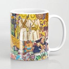 History of Mexico by Diego Rivera Coffee Mug