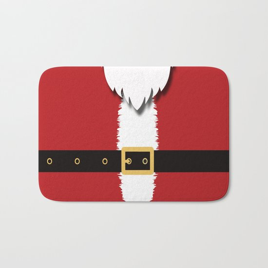Christmas, Santa Claus Bath Mat