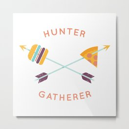 Hunter Gatherer Metal Print
