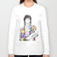 prince Long Sleeve T-shirts featuring Prince by Zooey Art