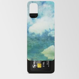 Partly cloudy Android Card Case