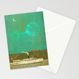 STEAMBOAT FIREWORKS Stationery Cards
