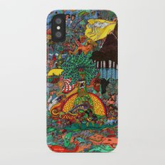 A Land Of Chaos iPhone X Slim Case