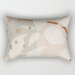 follow the tendril #minimalism #digitalart Rectangular Pillow