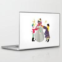 snowman Laptop & iPad Skins featuring Snowman by Design4u Studio
