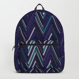 Abstract Chevron Backpack