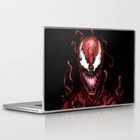 carnage Laptop & iPad Skins featuring Carnage by dariiy
