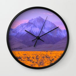 1960s Landscape XX Wall Clock