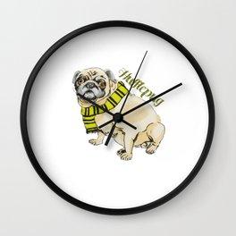 Hufflepug Wall Clock