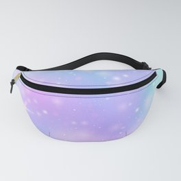 Purple Turquoise Watercolor Fanny Pack