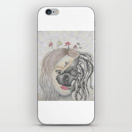 the darkness within iPhone Skin