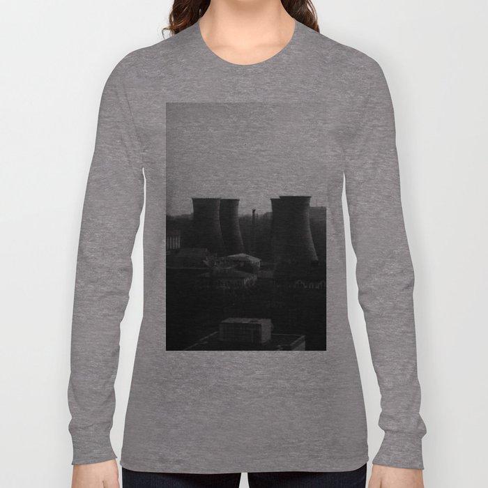 Bucharest Skyline Long Sleeve T-shirt