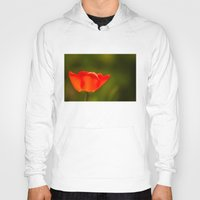 tulip Hoodies featuring Tulip by Bruce Stanfield