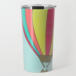 IT'S TIME TO EXPLORE- HOT AIR BALLOON Travel Mug
