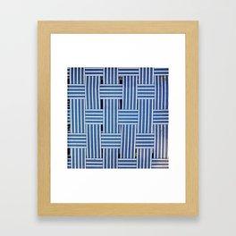 Lawn Chair Framed Art Print