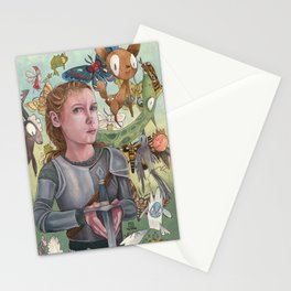 Protecting Your Imagination Stationery Cards