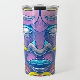 Mask of tomorrow Travel Mug