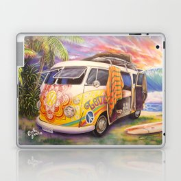 Hippie Surfer Life Laptop & iPad Skin