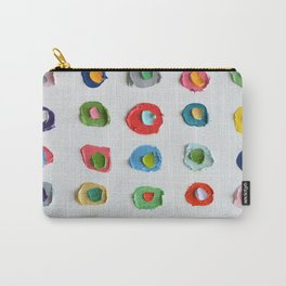 Concentric Polka Daubs 2 Carry-All Pouch